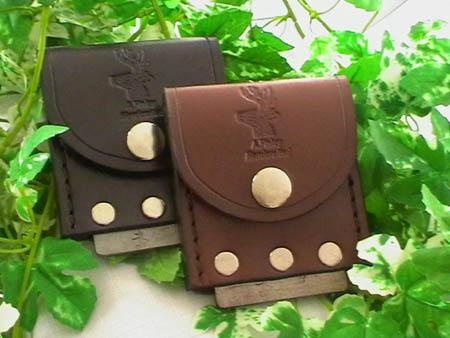 leather cased flint steel