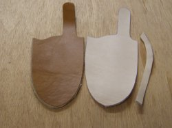 Standard Leather Sheath Kit Dyed
