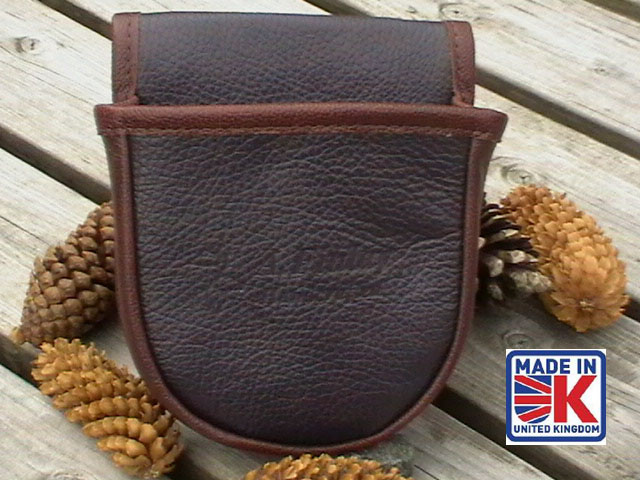 leather shooters cartridge bag pouch